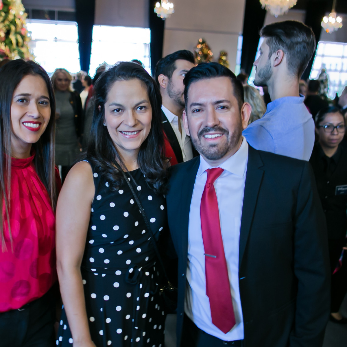 World AIDS Day Luncheon 2019 Irene Flores, Stephanie Estala, Jose Calderon
