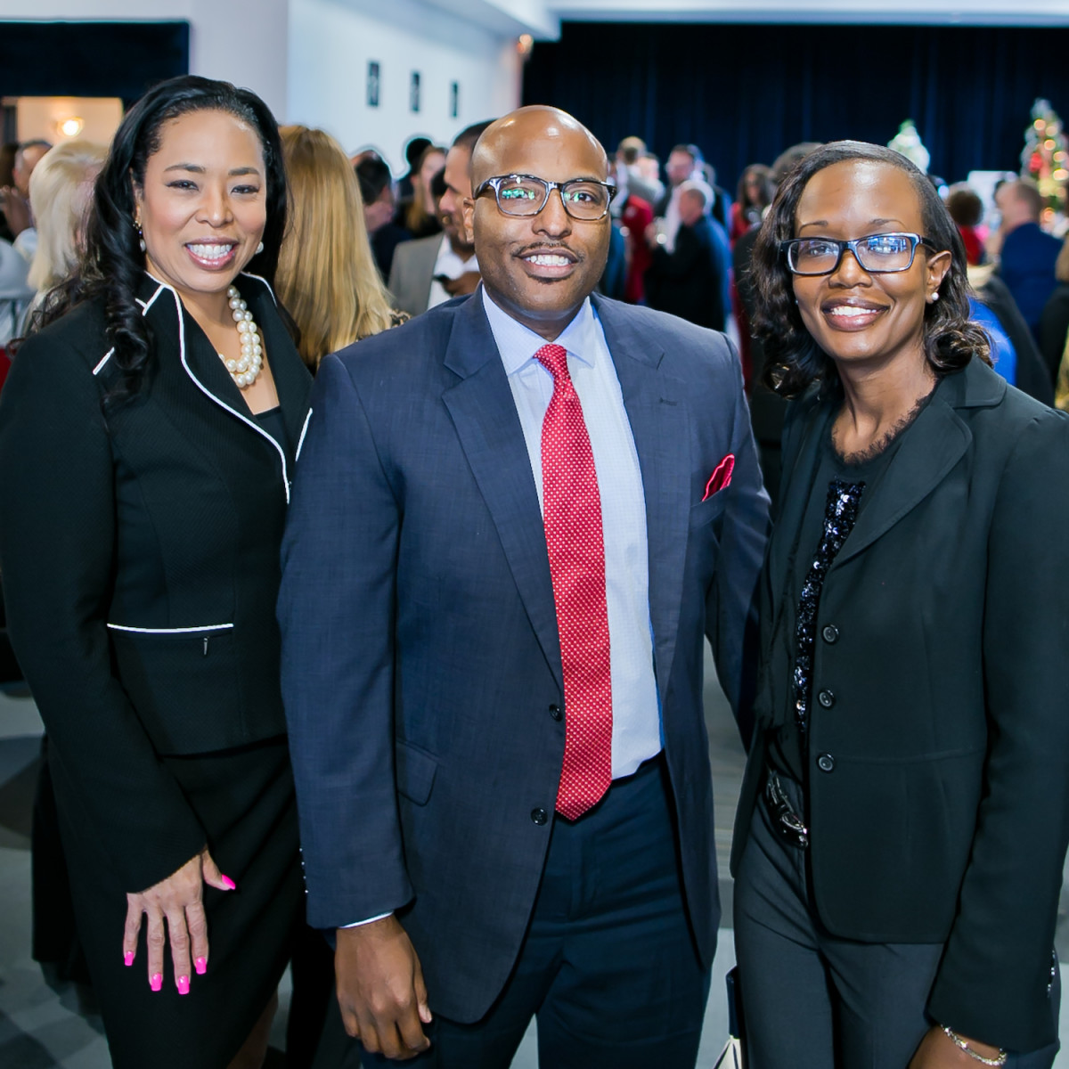 World AIDS Day Luncheon 2019 Candace McAlester, Kyle Pierce, Susan Ngunjiri