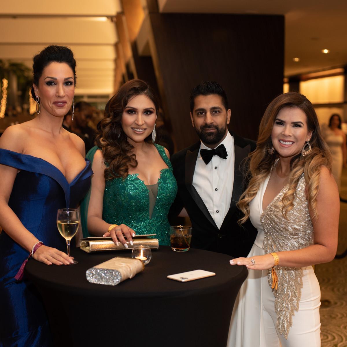 Altus Gala 2019 Hira Khan, Nuruddin Ali, & Vanessa Montero