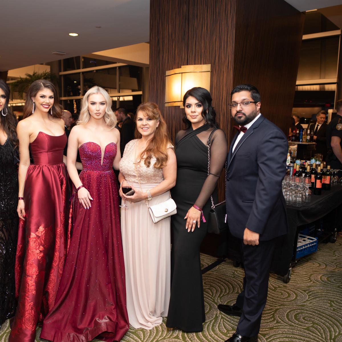 Altus Gala 2019 Nissreen Nasif, Libby Hill, Sasha Libby, Stepheny Jacquez, and Samik Haleeq