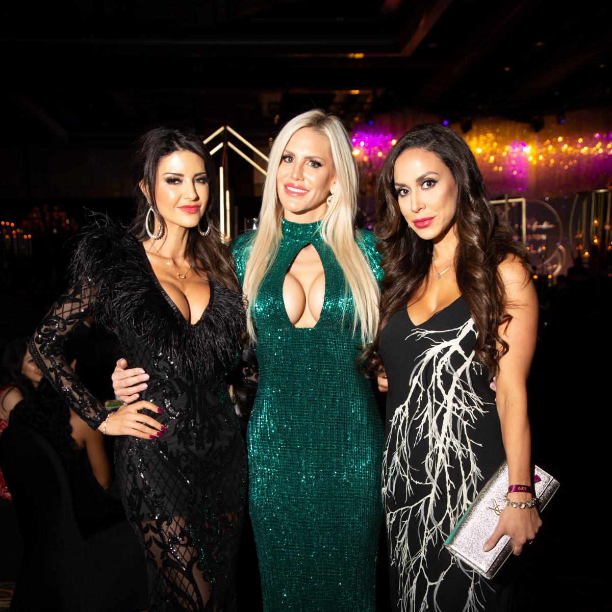 Altus Gala 2019 Nissreen Nasif, Jessica Hatch, Kerri Kayes