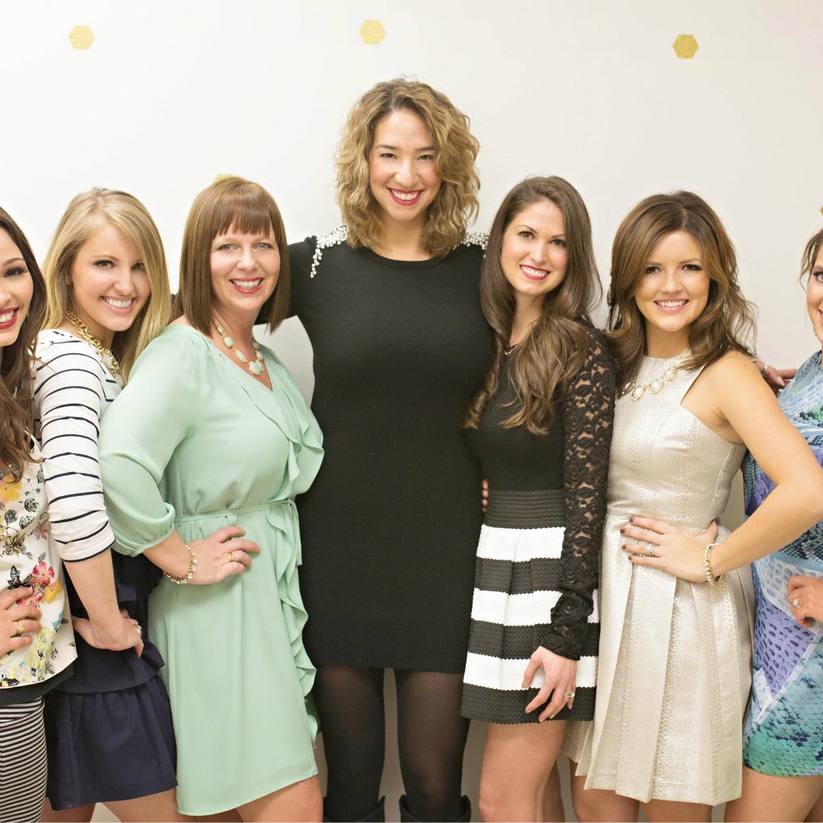 Raquel Lovern, Kelly McGraw, Alyssa Turner, Veronica Perez, Kara Stout, Elisabeth Landry, Jenna Thomas