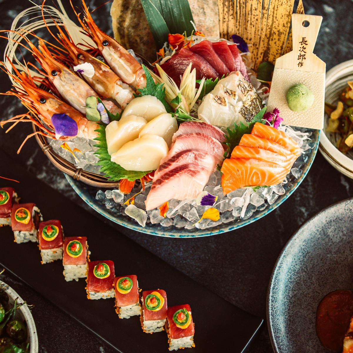 TenTen Austin sashimi