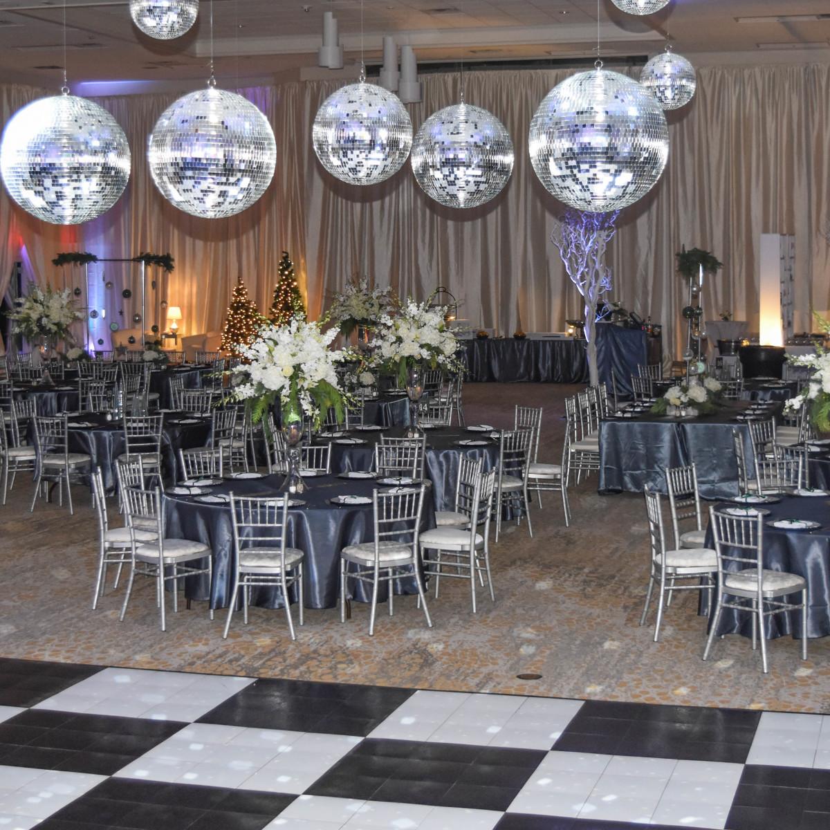 The Fredonia Hotel ballroom