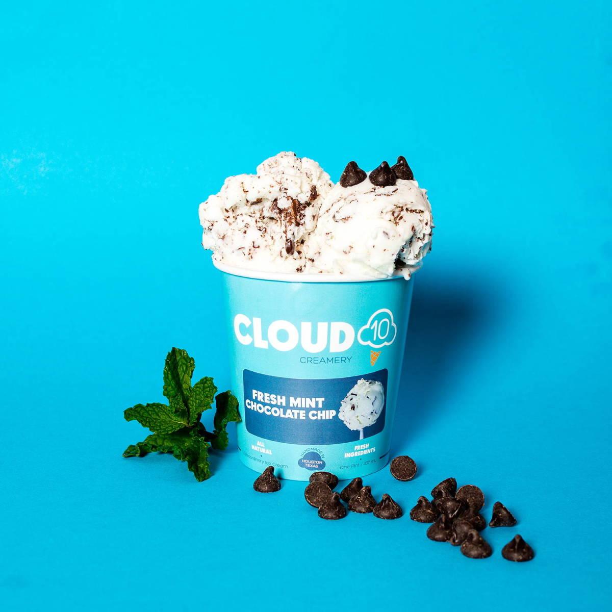 Cloud 10 Creamery fresh mint pint