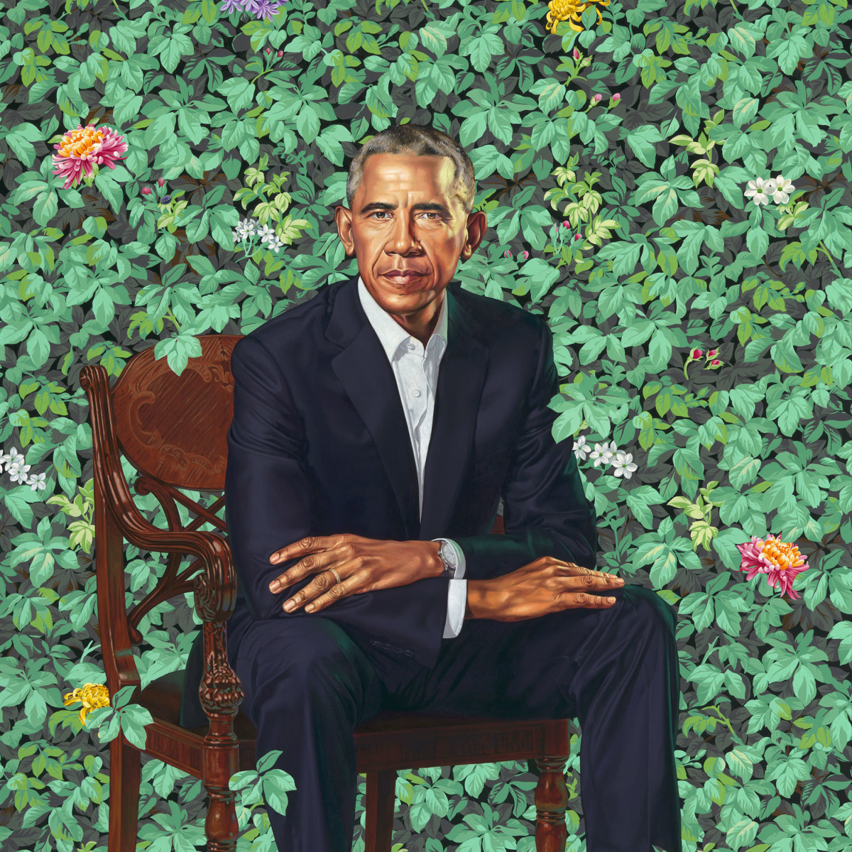 Portraits of Barack, Michelle Obama to travel on a five-city tour