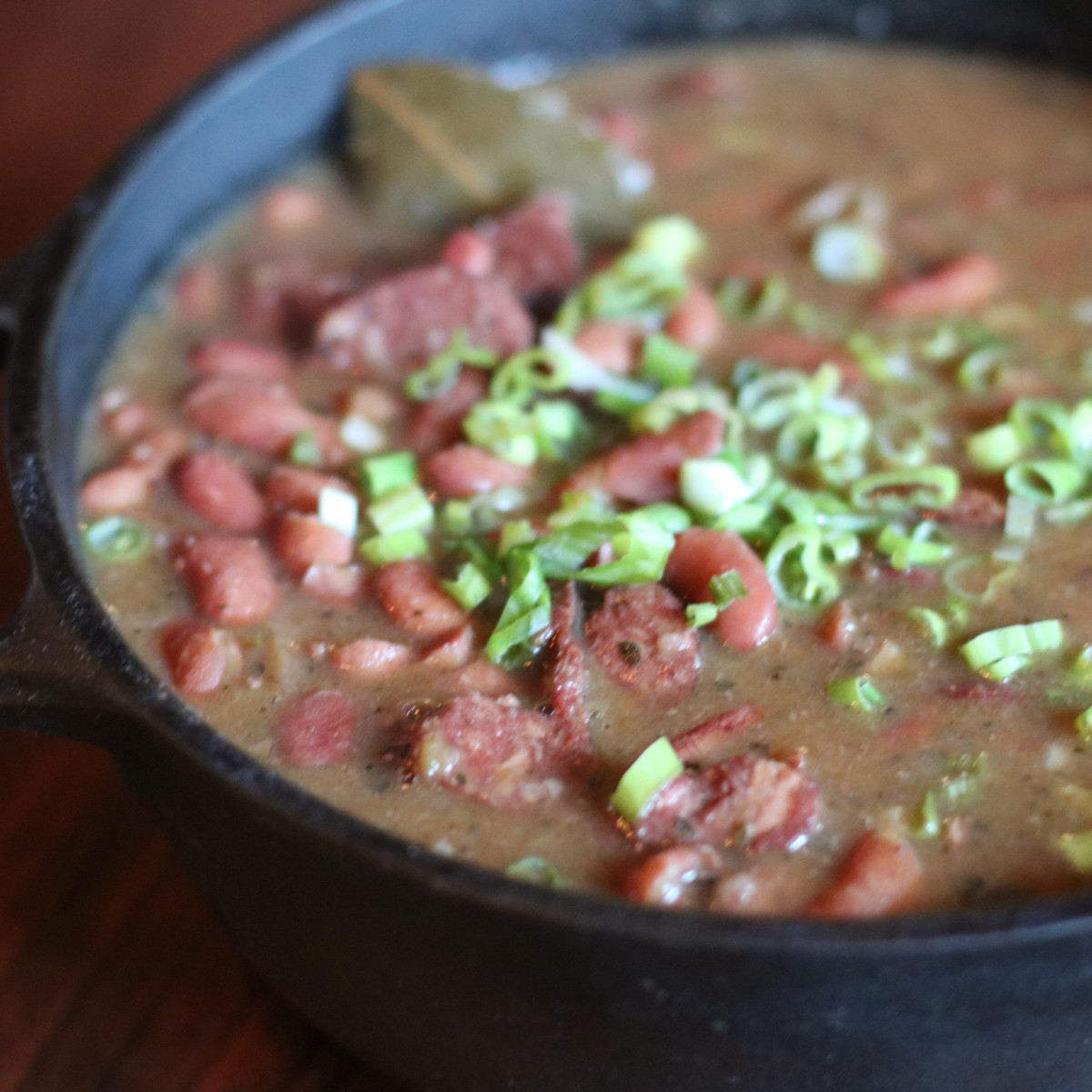 Brennan's Pableaux Johnson red beans and rice