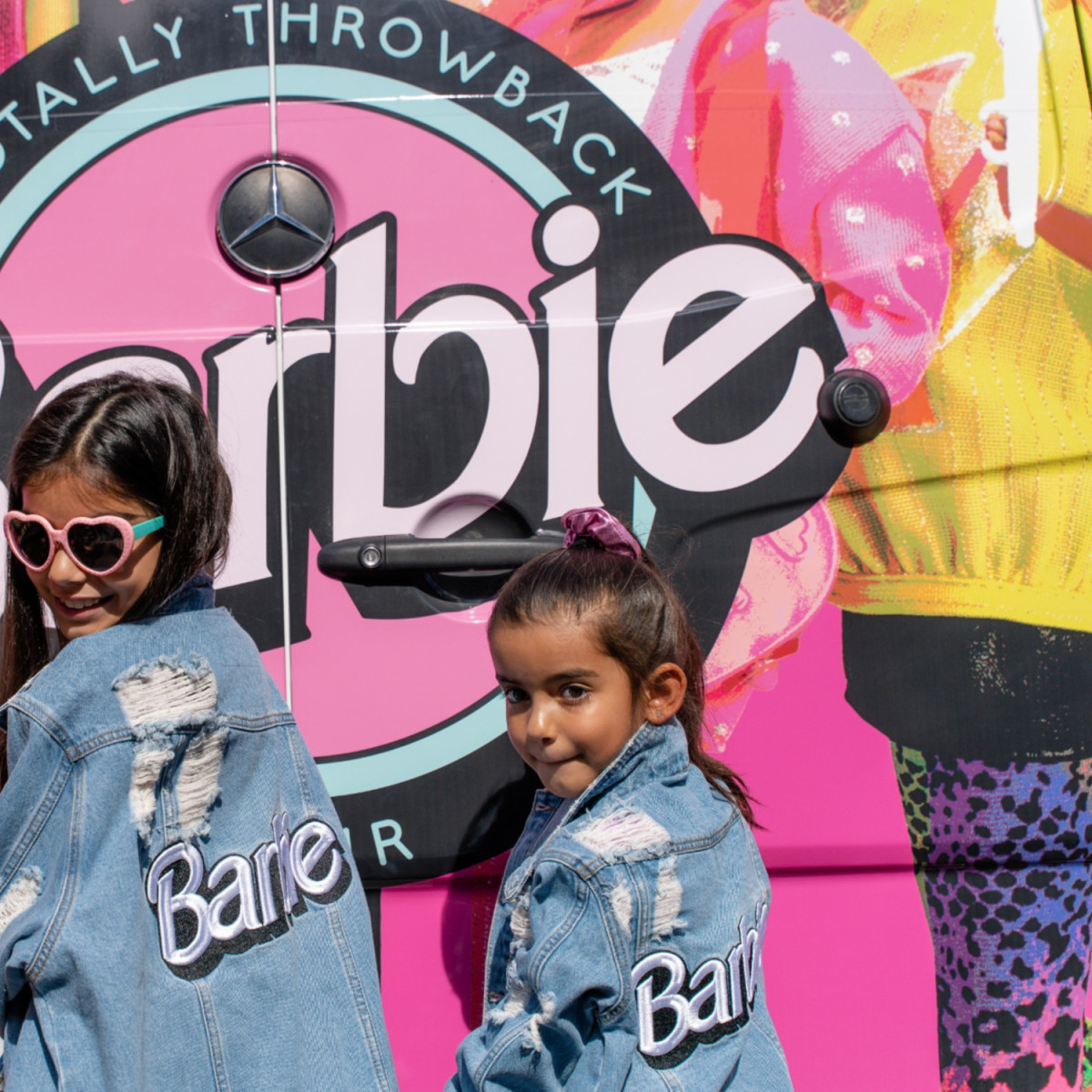 The Barbie Pop Up Truck presents Totally Throwback Tour