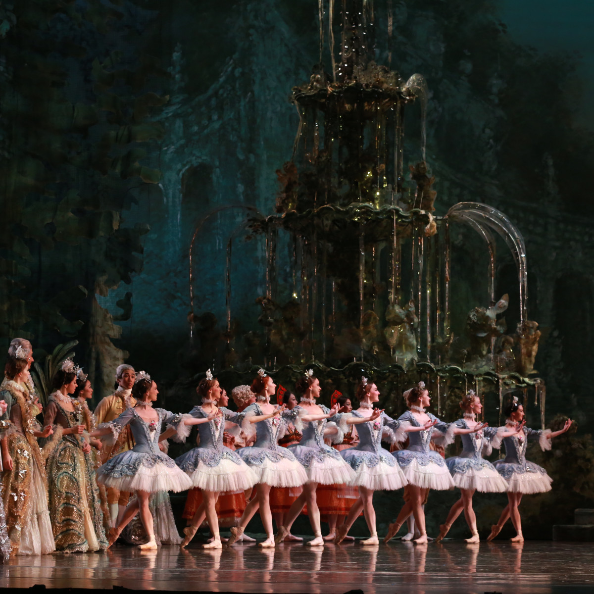 Artists of Houston Ballet in Ben Stevenson's The Sleeping Beauty