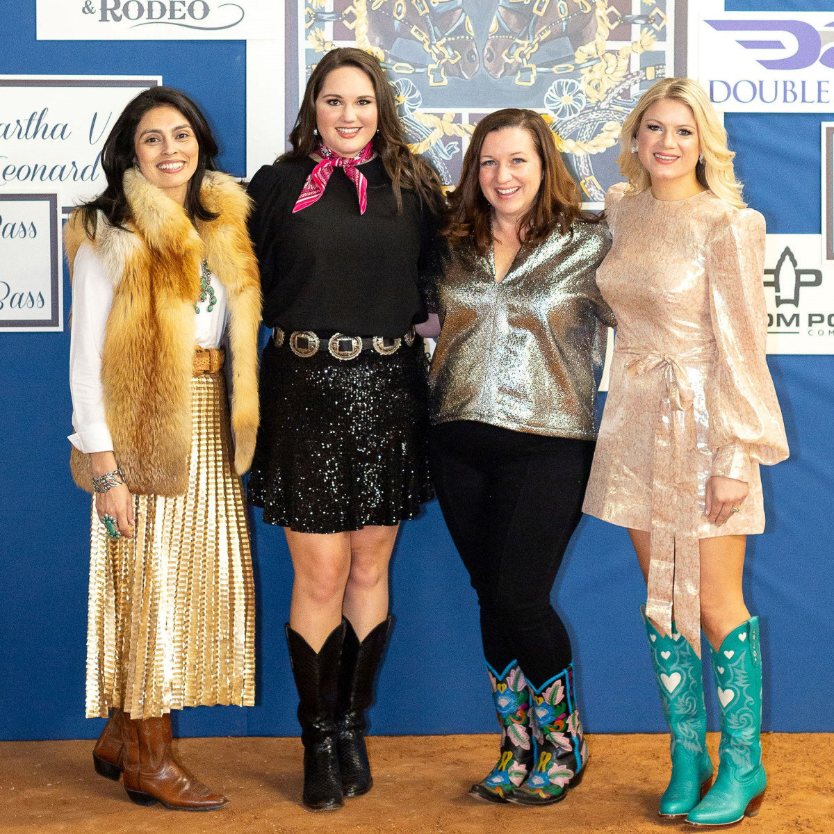 Sara Dameron, Co-Chair Erica Pifer, JLFW Fund Development Vice President Robin Greenhaw, Co-Chair Rachael Quisenberry