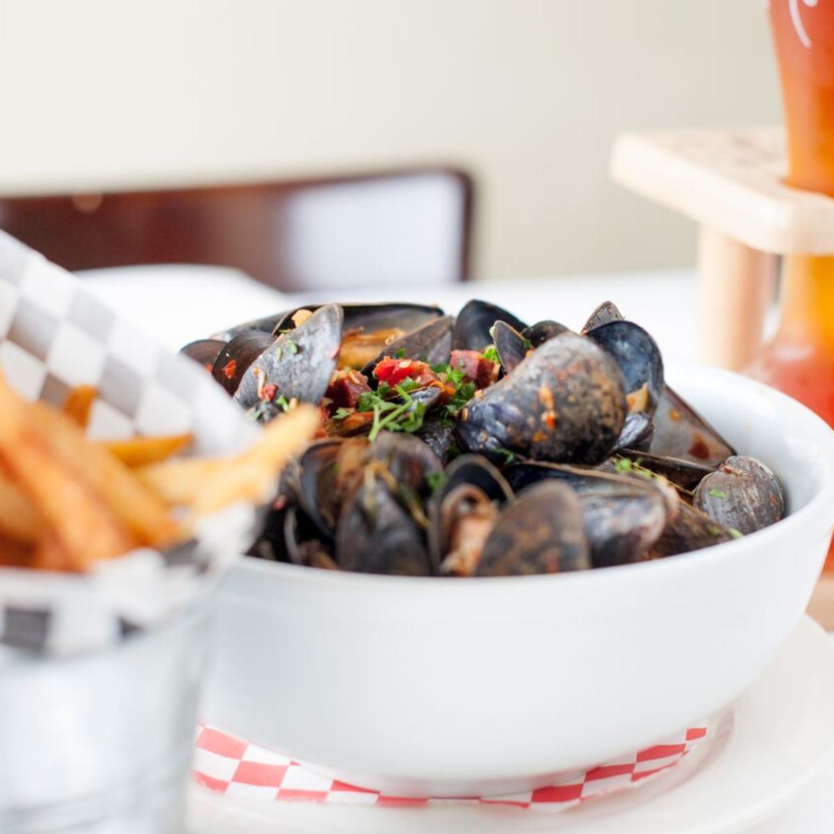mussels La Frite Belgian Bistro San Antonio
