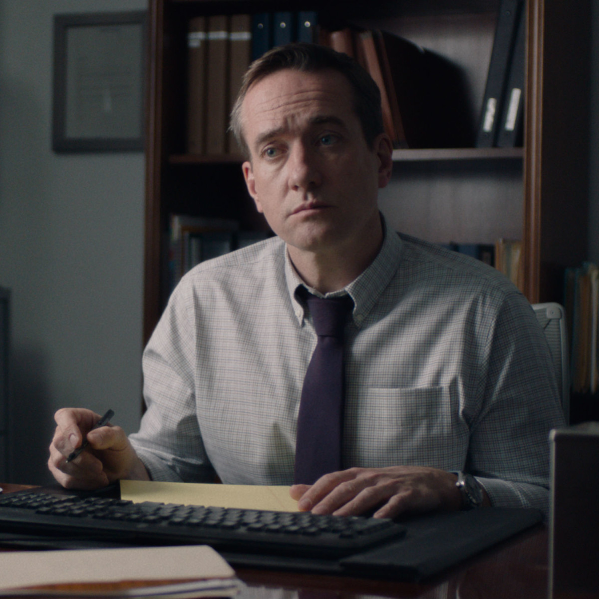 Matthew Macfadyen in The Assistant