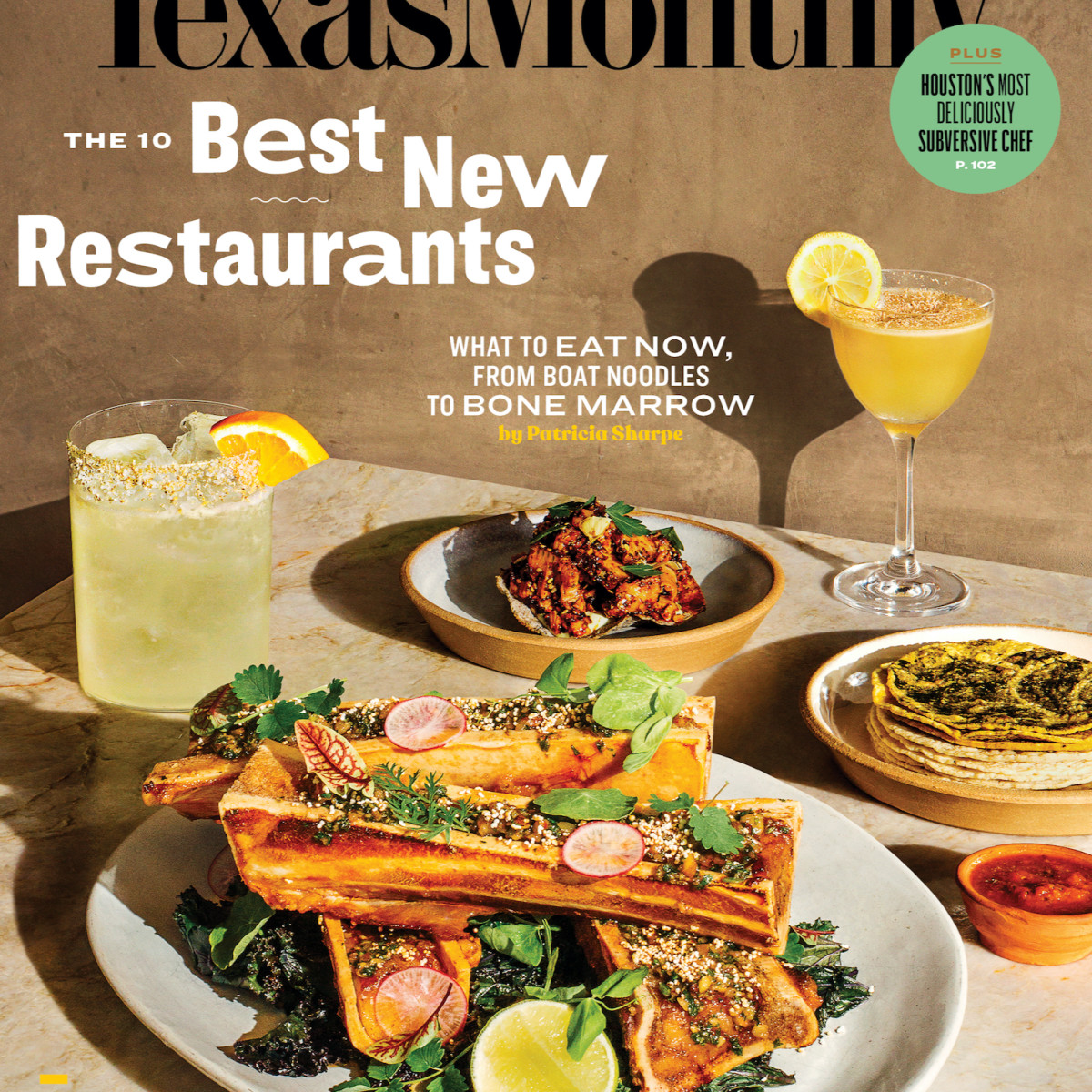 Texas Monthly Best New Restaurants 2020 cover