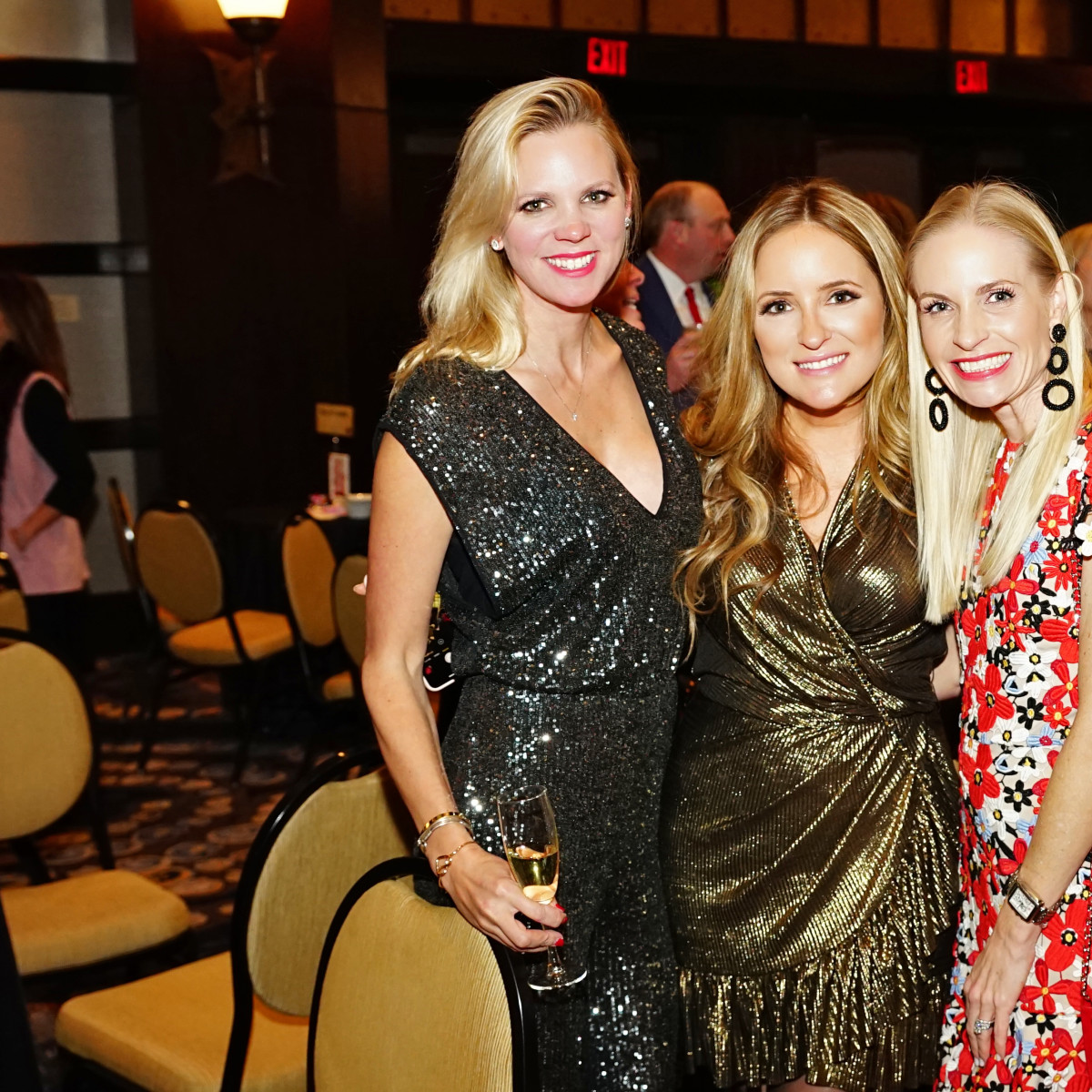 Rodeo Trailblazer Awards Luncheon 2020 Erin Hall, Stephanie Montalbano and Jill Smith