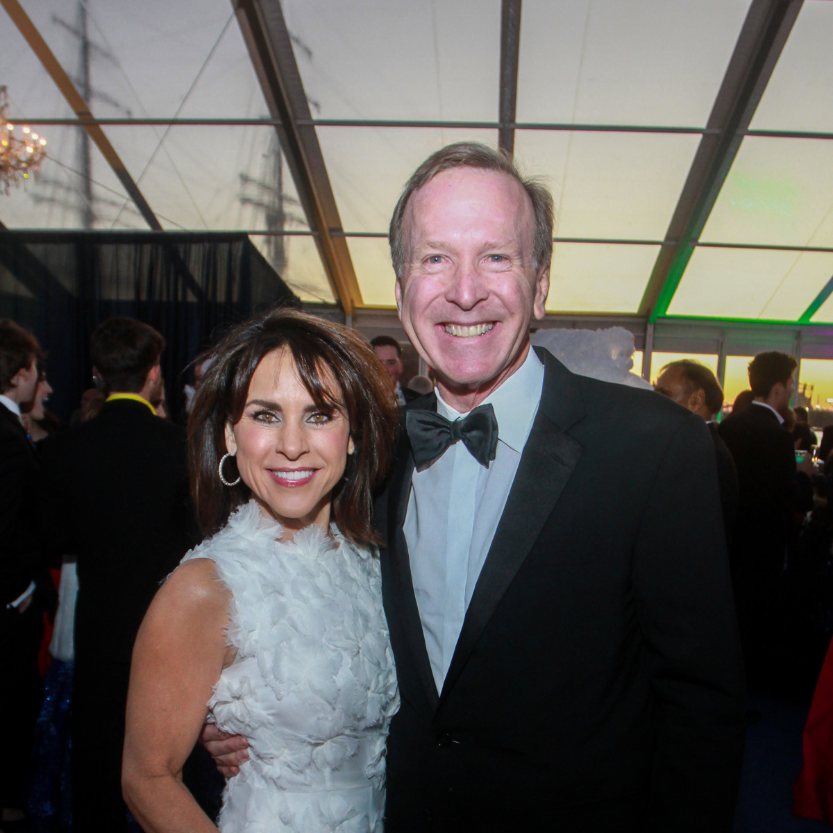San Luis Salute 2020 Maria and Neil Bush