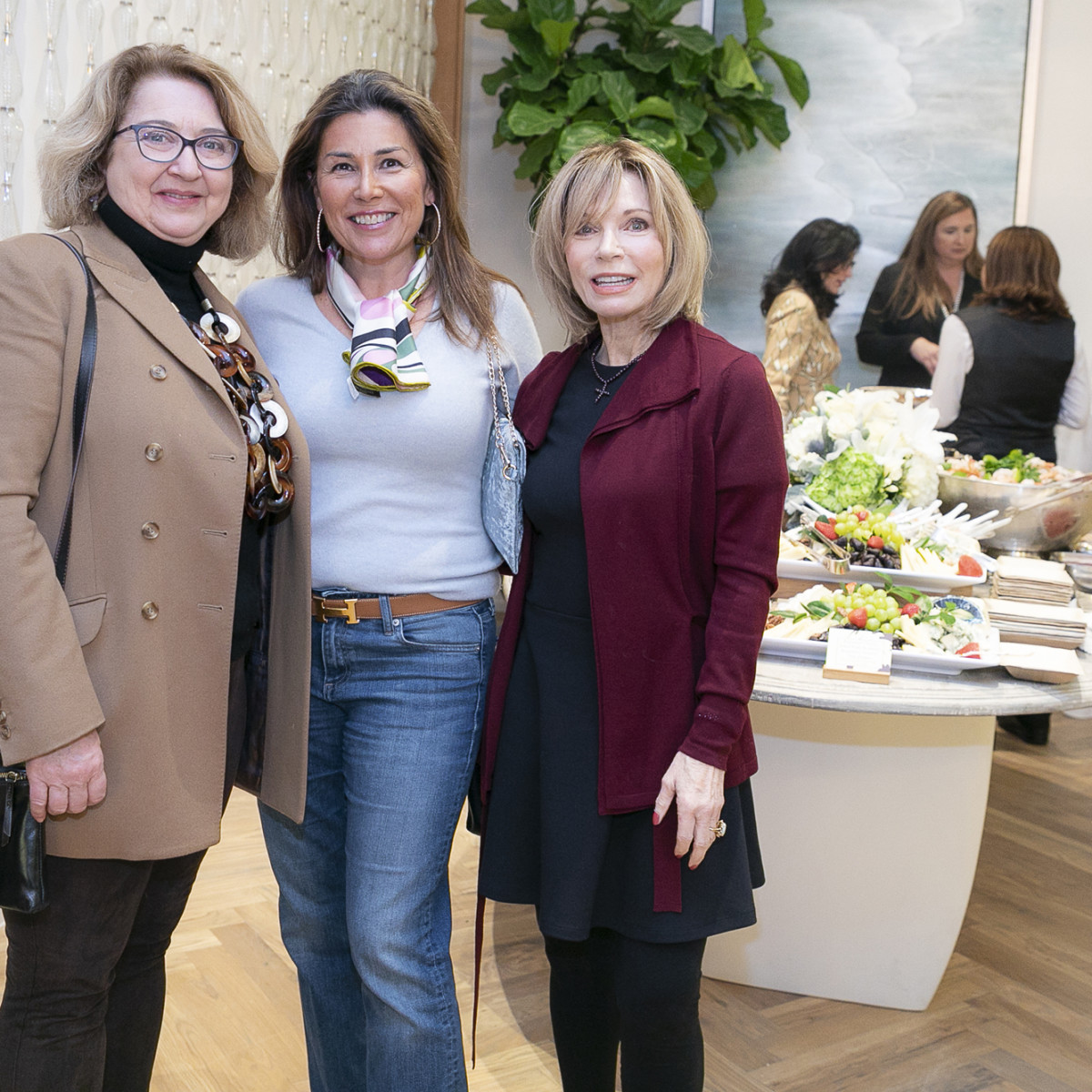 Julie Hellums, Alina Hernandez, Jackie Griffin
