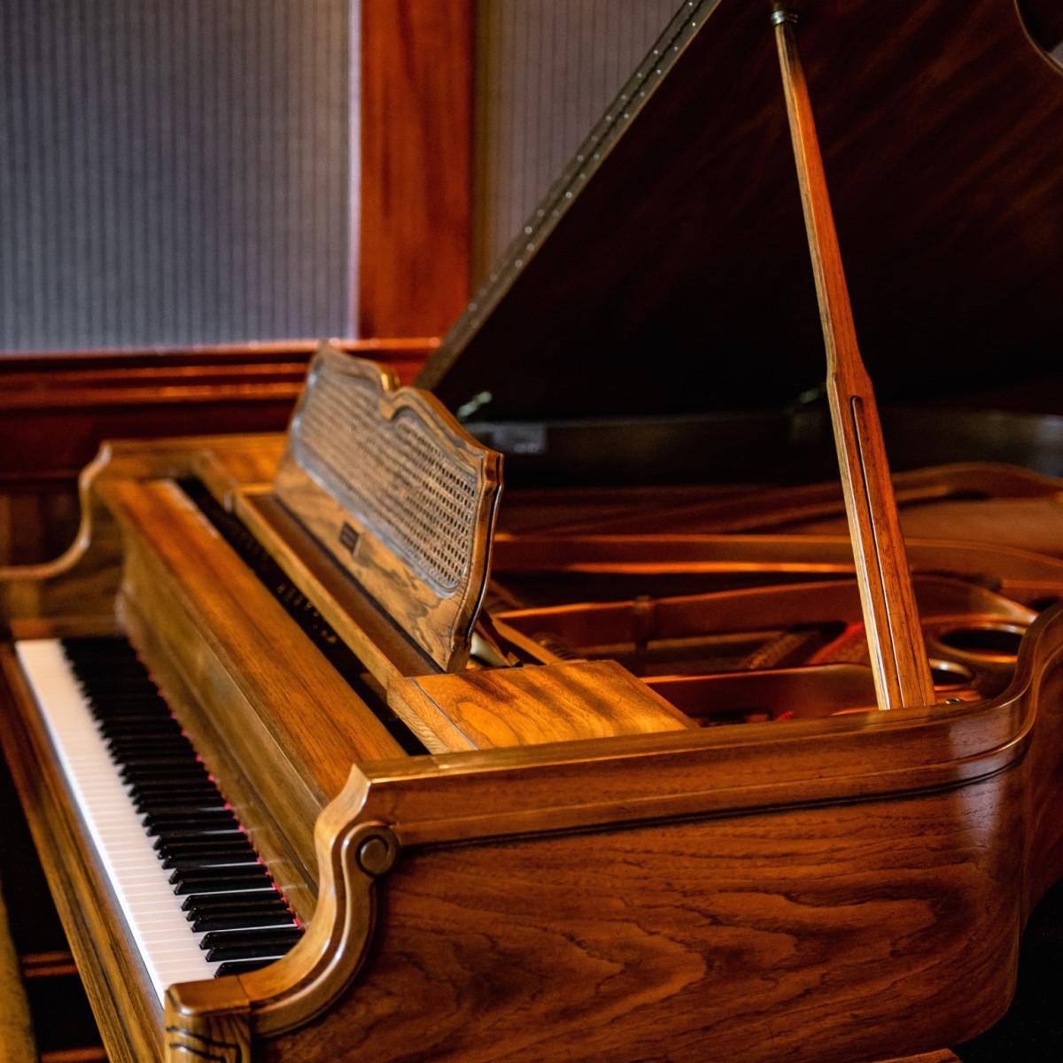 Turner's baby grand piano