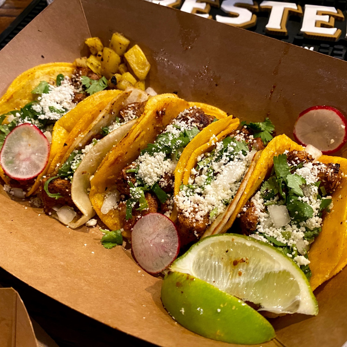 Underground Food Hall Don Juan tacos