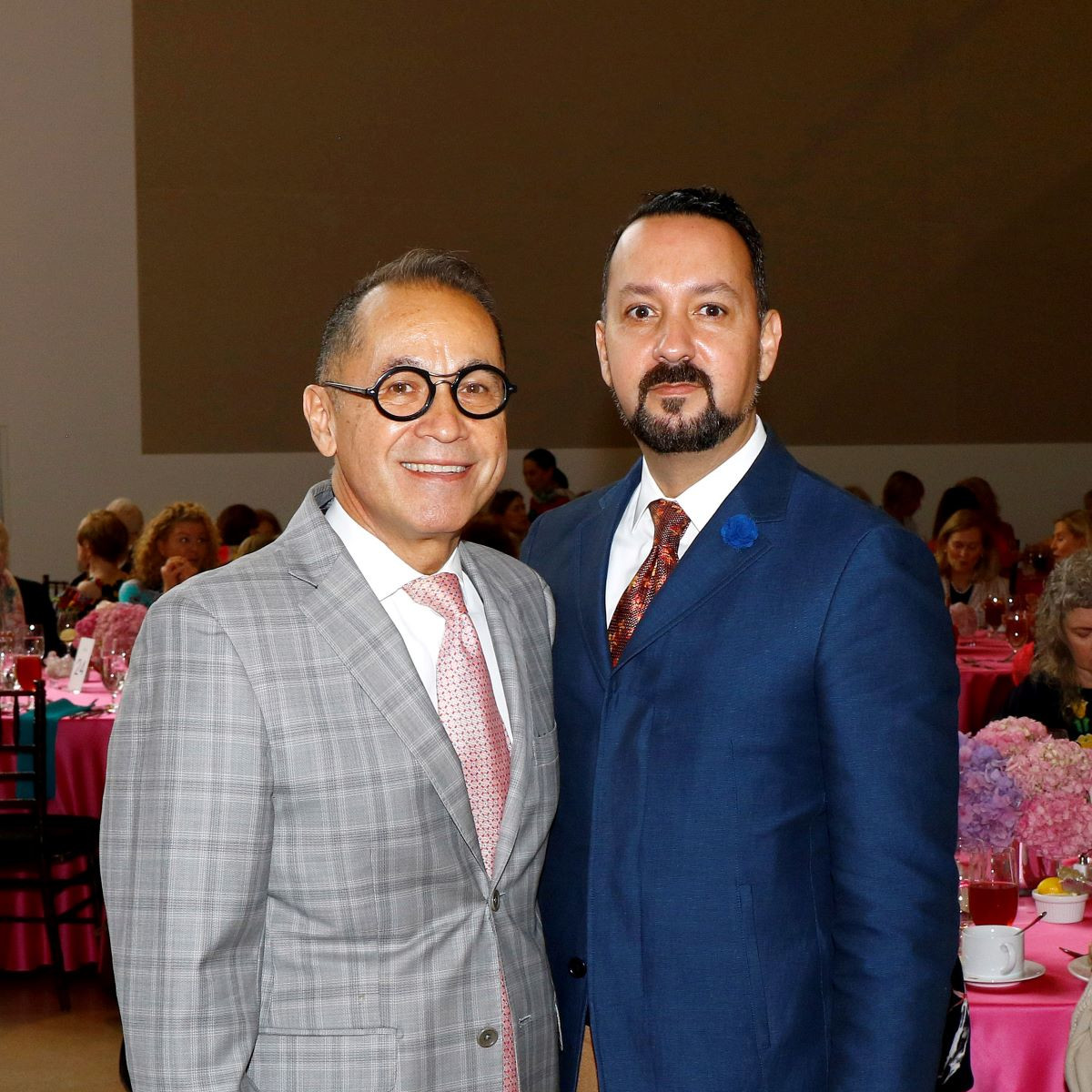 DMA Eugene McDermott Director Agustin Arteaga and Carlos Jaime-Hernandez