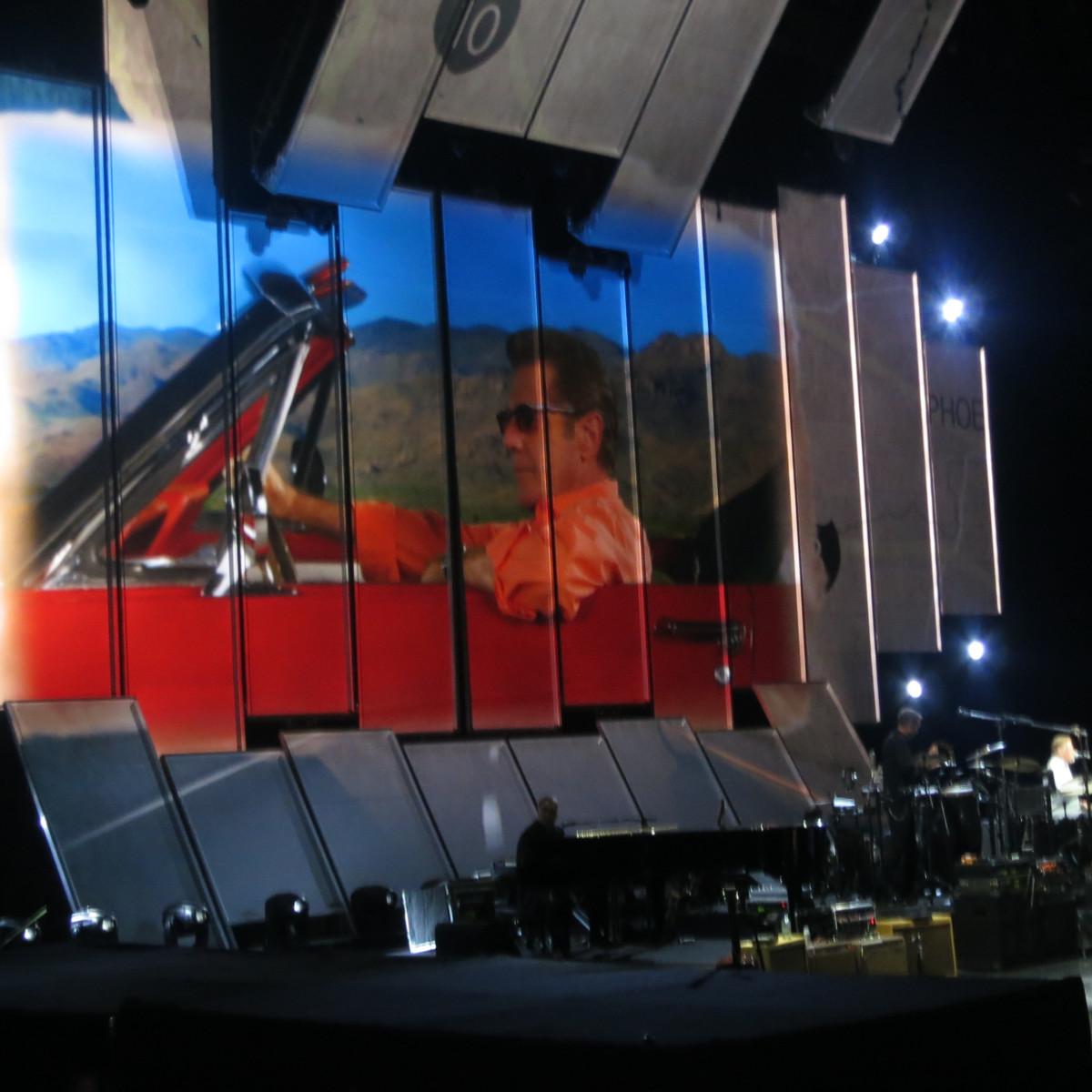 Eagles on stage in Philadelphia July 2013