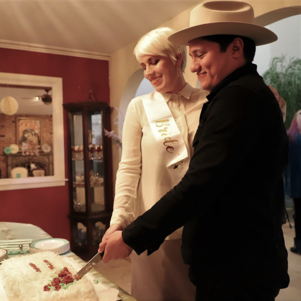 Holland Sanders wedding