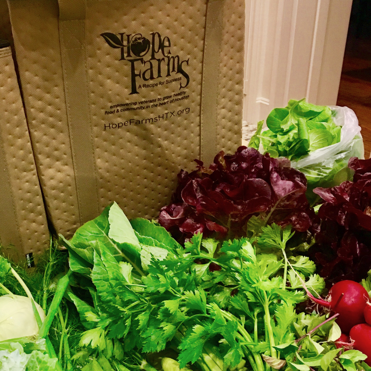 Hope Farms Farm Share bags