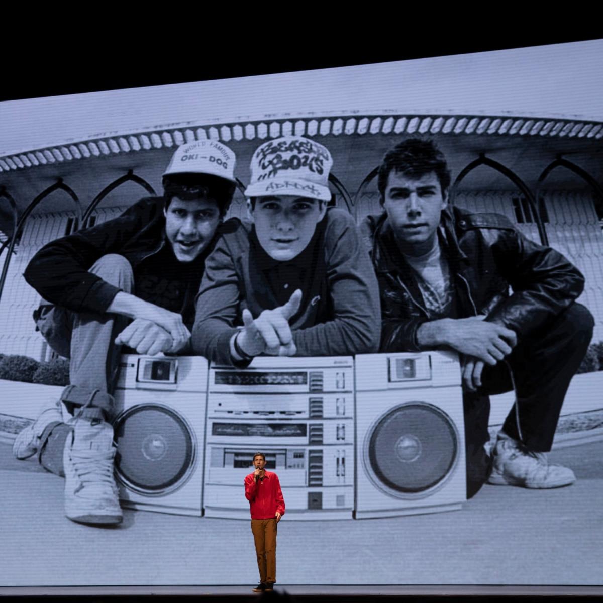 Adam Horovitz and Mike Diamond in Beastie Boys Story
