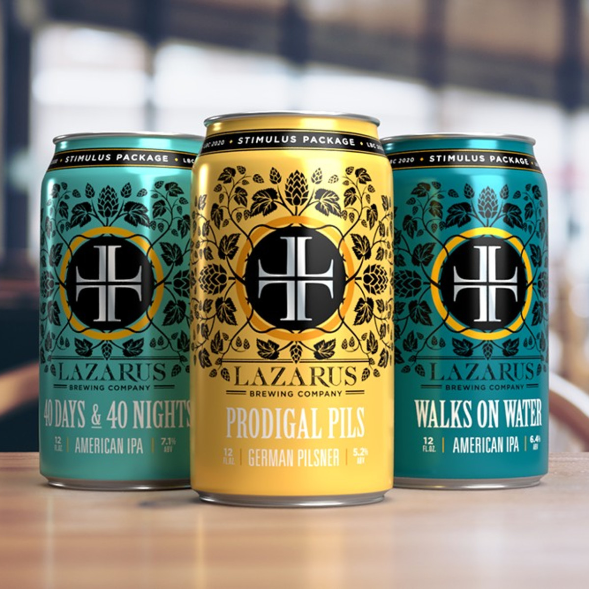 Lazarus Brewing Co. Stimulus Package Beer