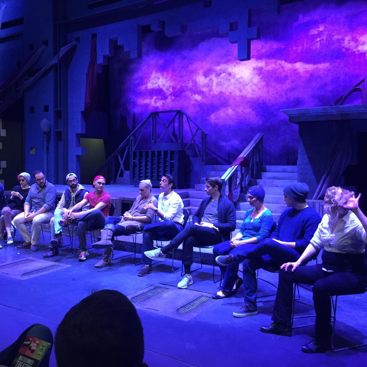 Creep talkback at WaterTower Theatre