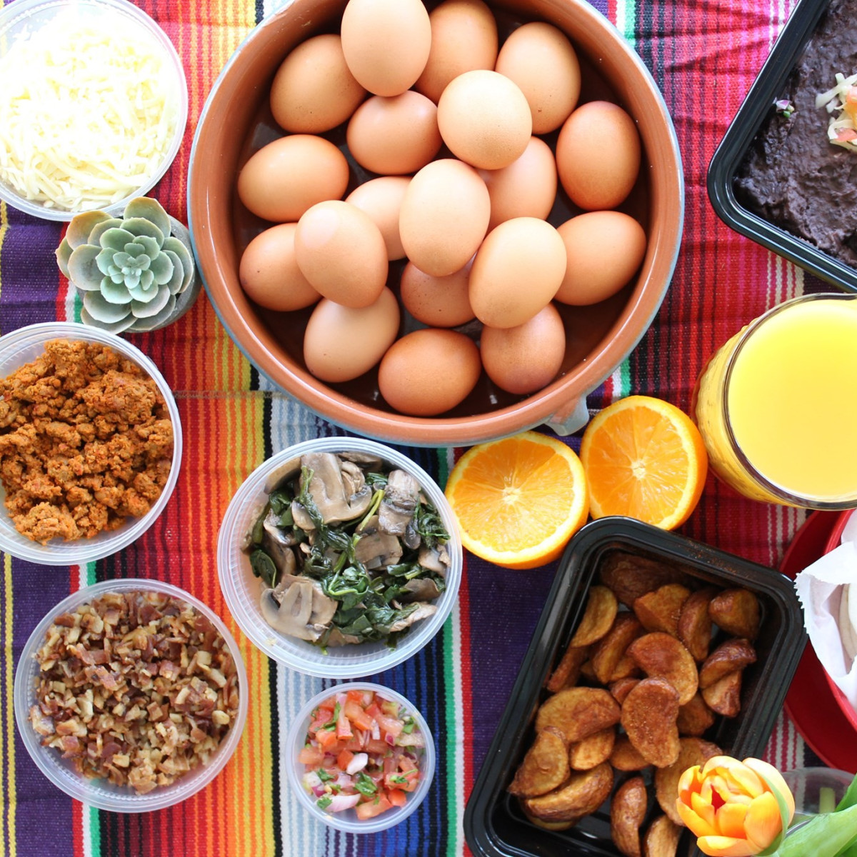 El Alma Breakfast Taco Kit