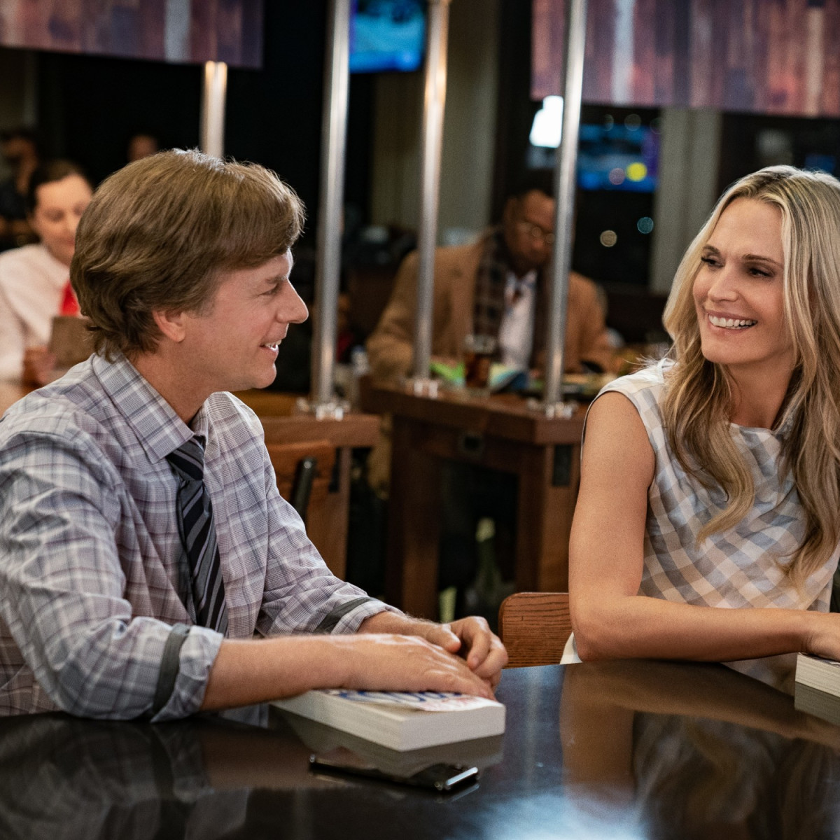 David Spade and Molly Sims in The Wrong Missy