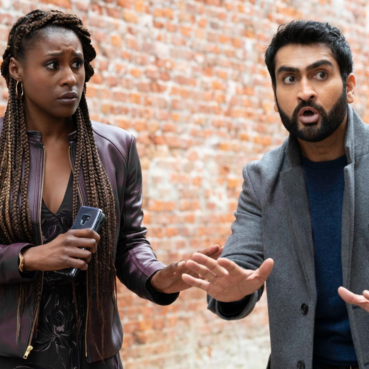 Issa Rae and Kumail Nanjiani in The Lovebirds