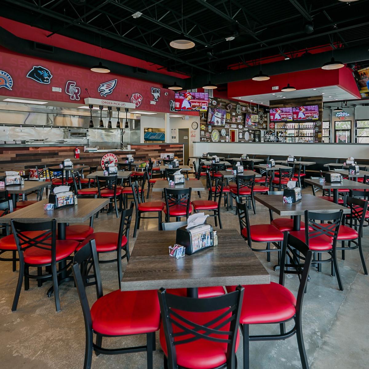 Jax Grill Katy interior