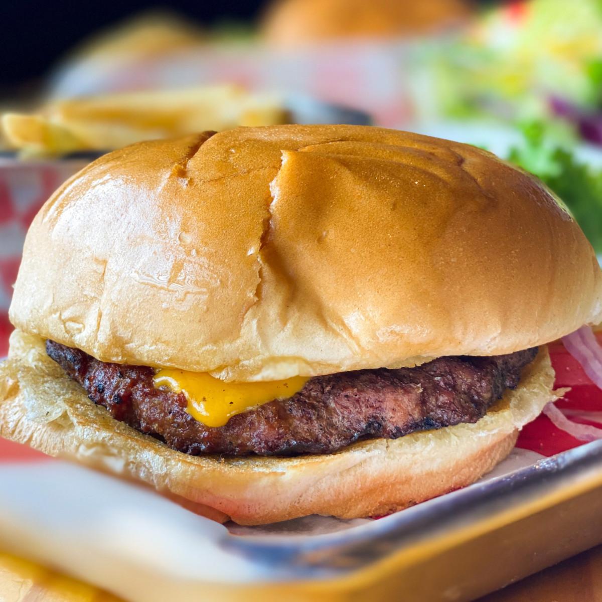 Jax Grill Katy burger