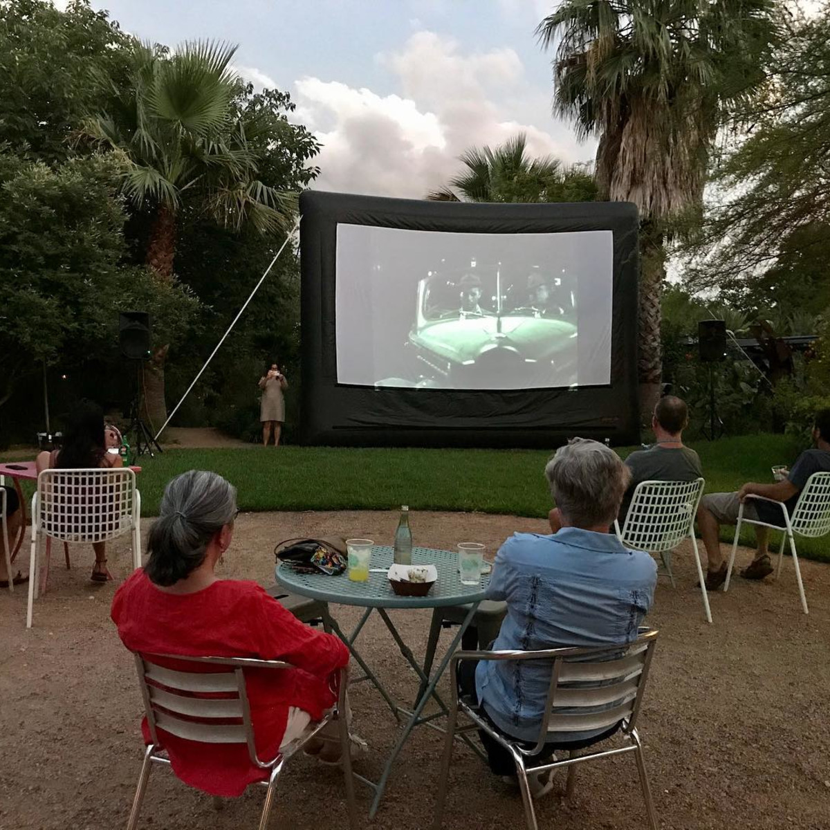 The Good Kind outdoor movie night