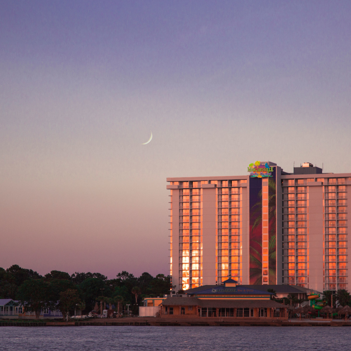 Margaritaville Lake Conroe resort Houston