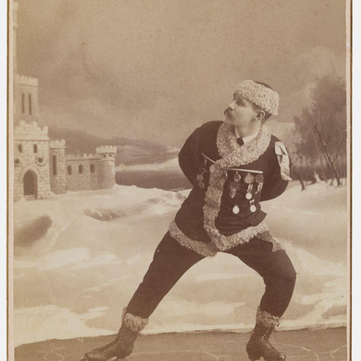 Alfred U. Palmquist and Peder T. Jurgens, St. Paul, MN, [Skater], 1880s