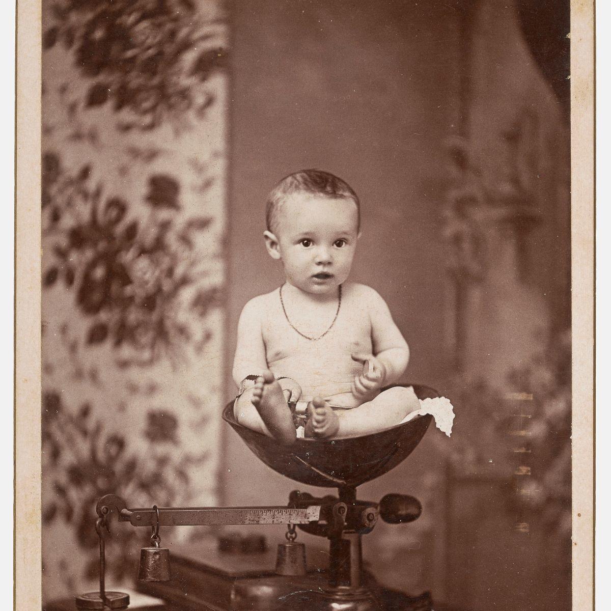 W. A. Wilcoxon, Bonaparte, IA, [Baby], 1890s,