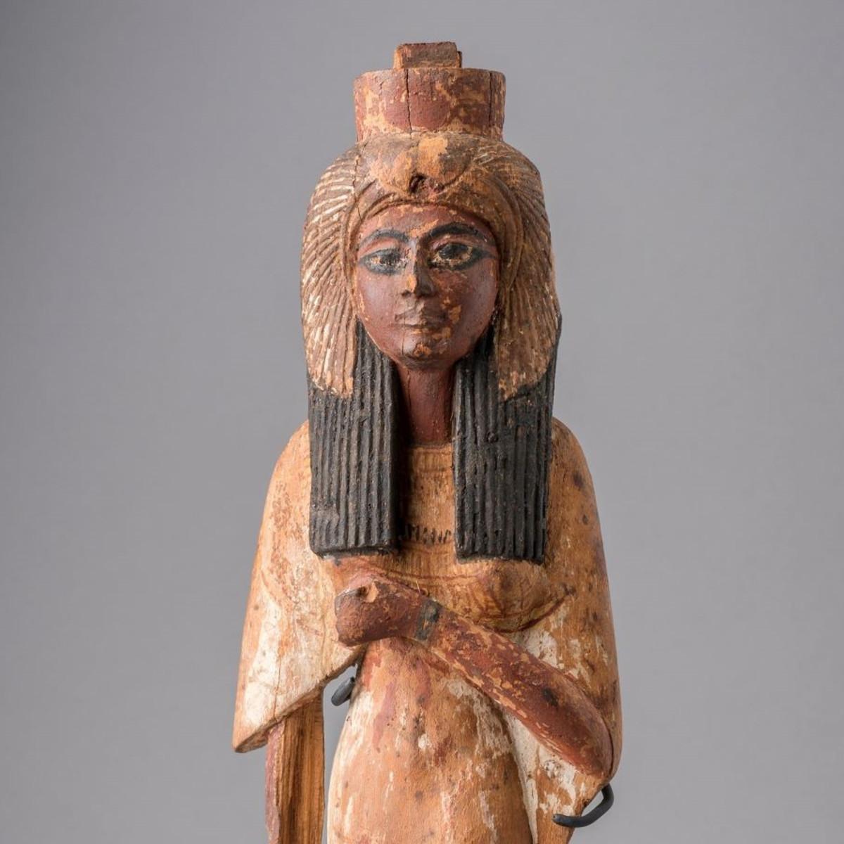"Statuette of Ahmose-Nefertari, ""Nefertari's Egypt"""