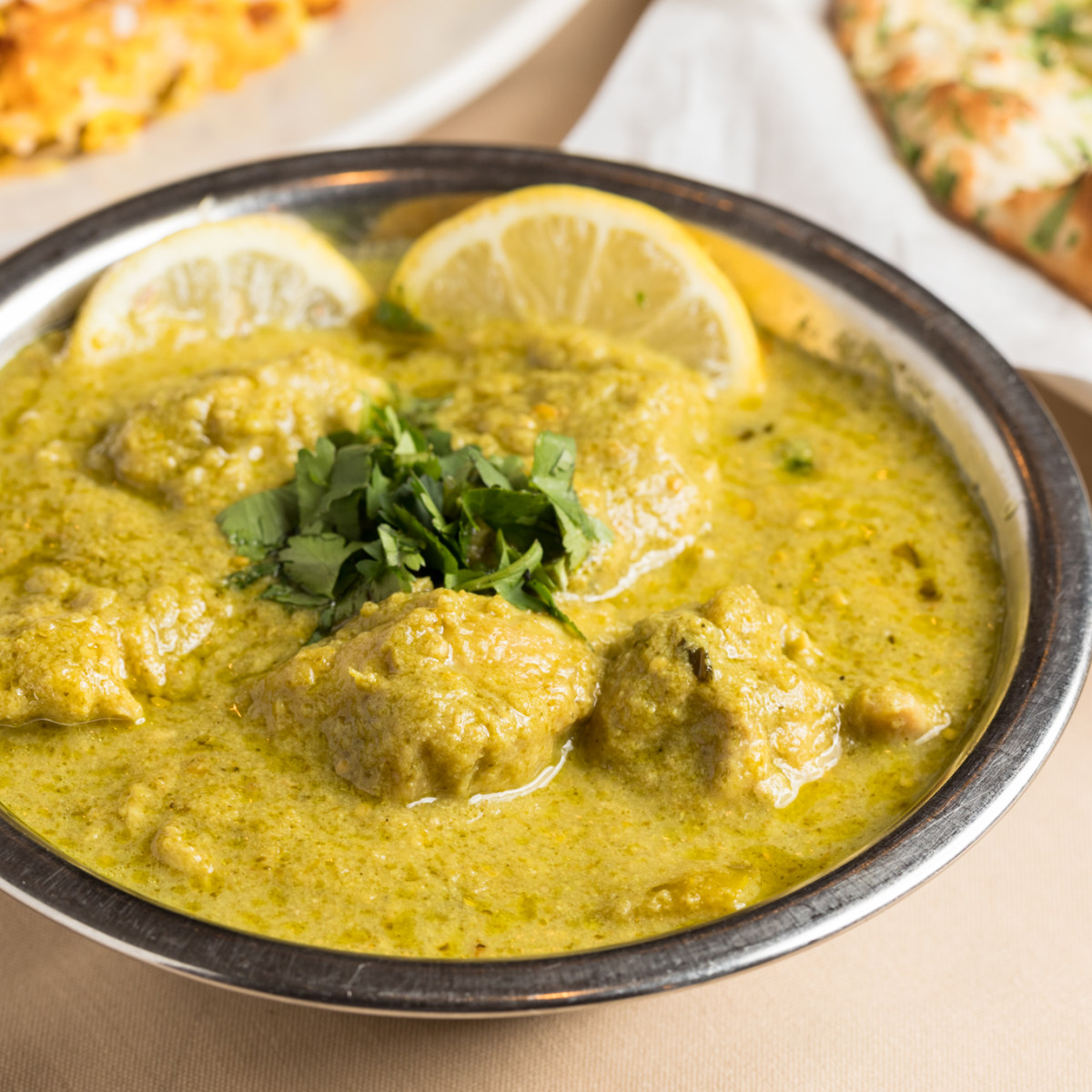 Himalaya chicken hara masala