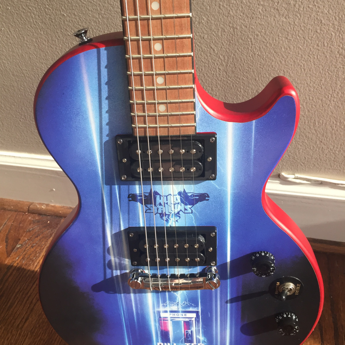 Bill and Ted Face the Music guitar