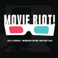 Movie Riot_improv show_ColdTowne Theater_I Luv Video_logo