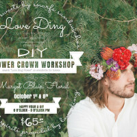 Love Ding presents a DIY Flower Crown Workshop