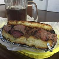 Jackson Street Barbecue sandwich April 2015