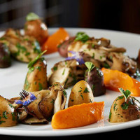 Smoked potatoes at FT33 restaurant in Dallas