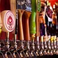 Henderson Tap House beer taps