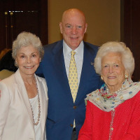 Brookwood luncheon, Janice McNair, Bob McNair, Barbara Bush