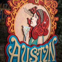 Bradford Maxfield artist Spirit of Austin piece