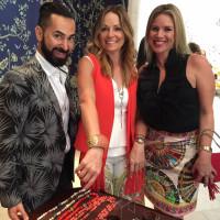 CAC luncheon 9/16, Fady Armanious, Lucinda Loya, Amy Lee