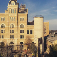 Pearl District San Antonio skyline buildings